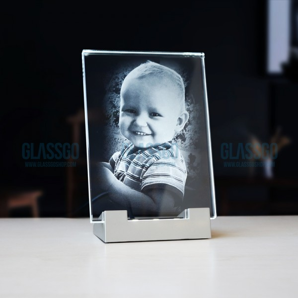 Stiklo rėmelis PS su LED pagrindu