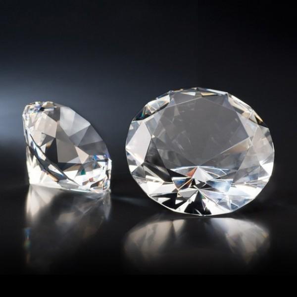 Stiklo ruošinys – Deimantas
